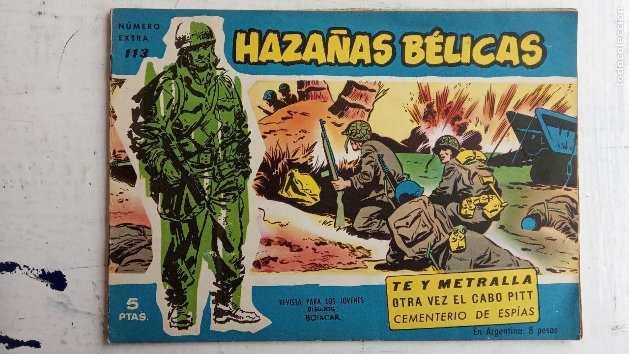 Tebeos: HAZAÑAS BÉLICAS AZUL - 135 TEBEOS EN BUEN-MUY BUEN ESTADO, VER TODAS LAS PORTADAS - Foto 70 - 198812892