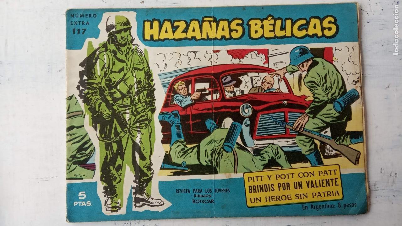 Tebeos: HAZAÑAS BÉLICAS AZUL - 135 TEBEOS EN BUEN-MUY BUEN ESTADO, VER TODAS LAS PORTADAS - Foto 72 - 198812892