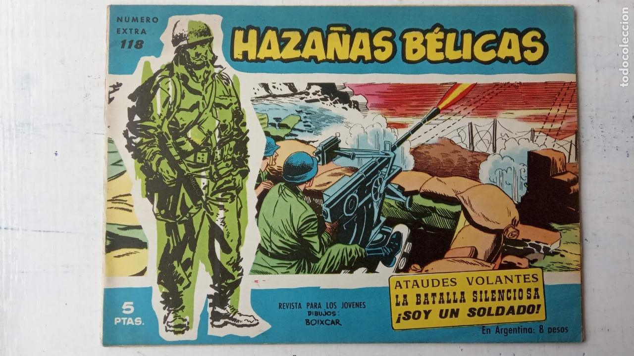 Tebeos: HAZAÑAS BÉLICAS AZUL - 135 TEBEOS EN BUEN-MUY BUEN ESTADO, VER TODAS LAS PORTADAS - Foto 73 - 198812892