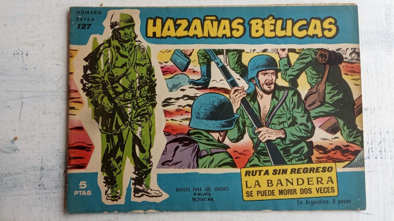 Tebeos: HAZAÑAS BÉLICAS AZUL - 135 TEBEOS EN BUEN-MUY BUEN ESTADO, VER TODAS LAS PORTADAS - Foto 78 - 198812892