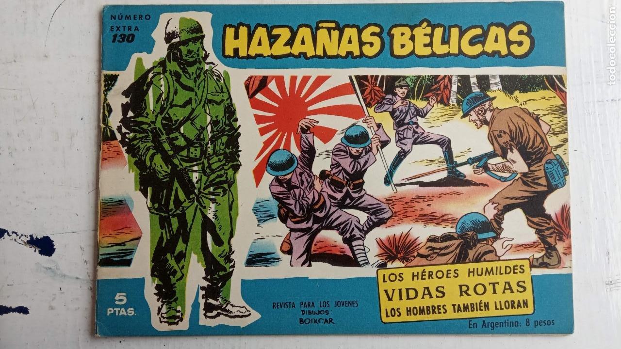 Tebeos: HAZAÑAS BÉLICAS AZUL - 135 TEBEOS EN BUEN-MUY BUEN ESTADO, VER TODAS LAS PORTADAS - Foto 80 - 198812892