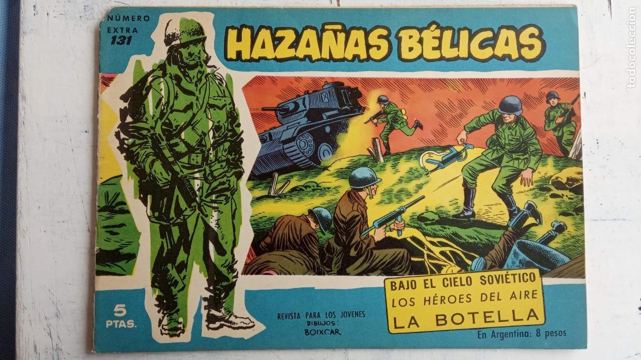 Tebeos: HAZAÑAS BÉLICAS AZUL - 135 TEBEOS EN BUEN-MUY BUEN ESTADO, VER TODAS LAS PORTADAS - Foto 81 - 198812892