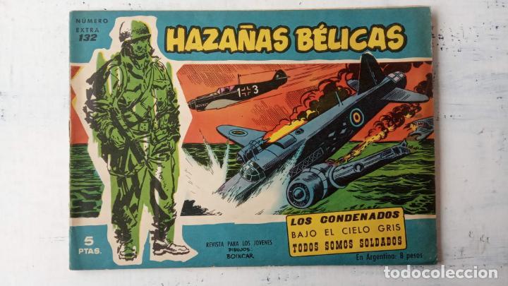Tebeos: HAZAÑAS BÉLICAS AZUL - 135 TEBEOS EN BUEN-MUY BUEN ESTADO, VER TODAS LAS PORTADAS - Foto 82 - 198812892