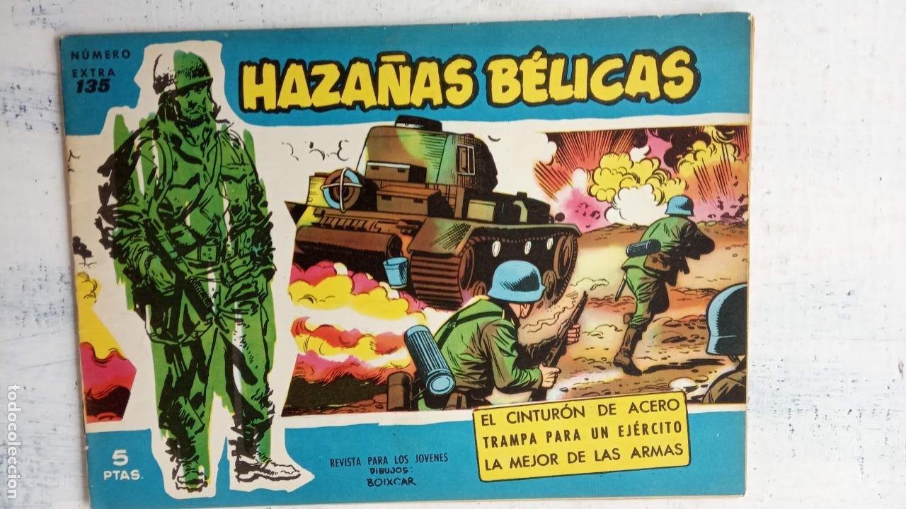 Tebeos: HAZAÑAS BÉLICAS AZUL - 135 TEBEOS EN BUEN-MUY BUEN ESTADO, VER TODAS LAS PORTADAS - Foto 84 - 198812892