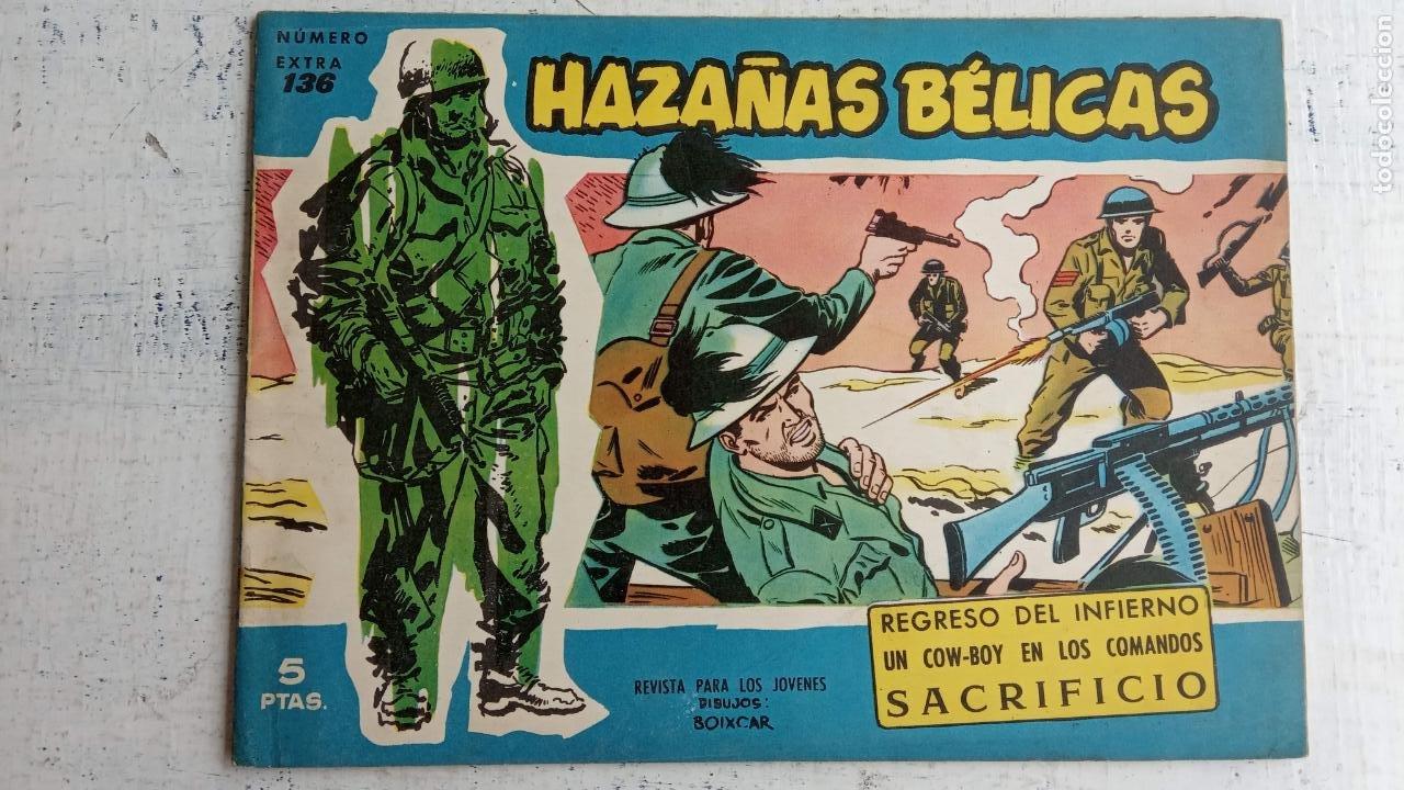 Tebeos: HAZAÑAS BÉLICAS AZUL - 135 TEBEOS EN BUEN-MUY BUEN ESTADO, VER TODAS LAS PORTADAS - Foto 85 - 198812892
