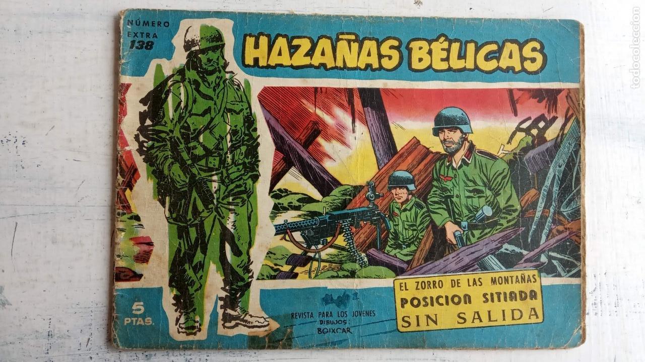Tebeos: HAZAÑAS BÉLICAS AZUL - 135 TEBEOS EN BUEN-MUY BUEN ESTADO, VER TODAS LAS PORTADAS - Foto 87 - 198812892