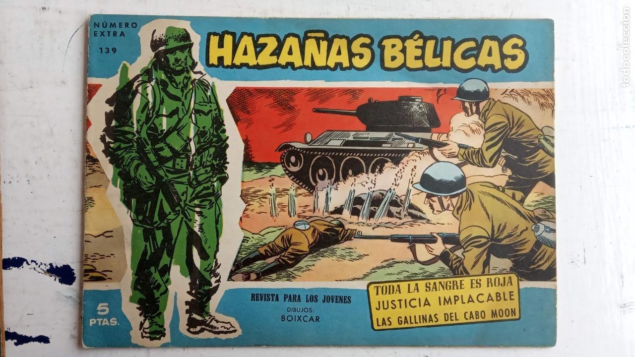 Tebeos: HAZAÑAS BÉLICAS AZUL - 135 TEBEOS EN BUEN-MUY BUEN ESTADO, VER TODAS LAS PORTADAS - Foto 88 - 198812892