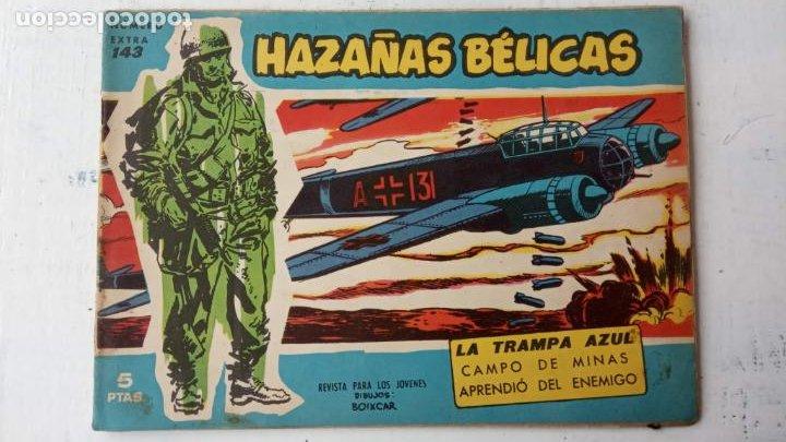 Tebeos: HAZAÑAS BÉLICAS AZUL - 135 TEBEOS EN BUEN-MUY BUEN ESTADO, VER TODAS LAS PORTADAS - Foto 105 - 198812892