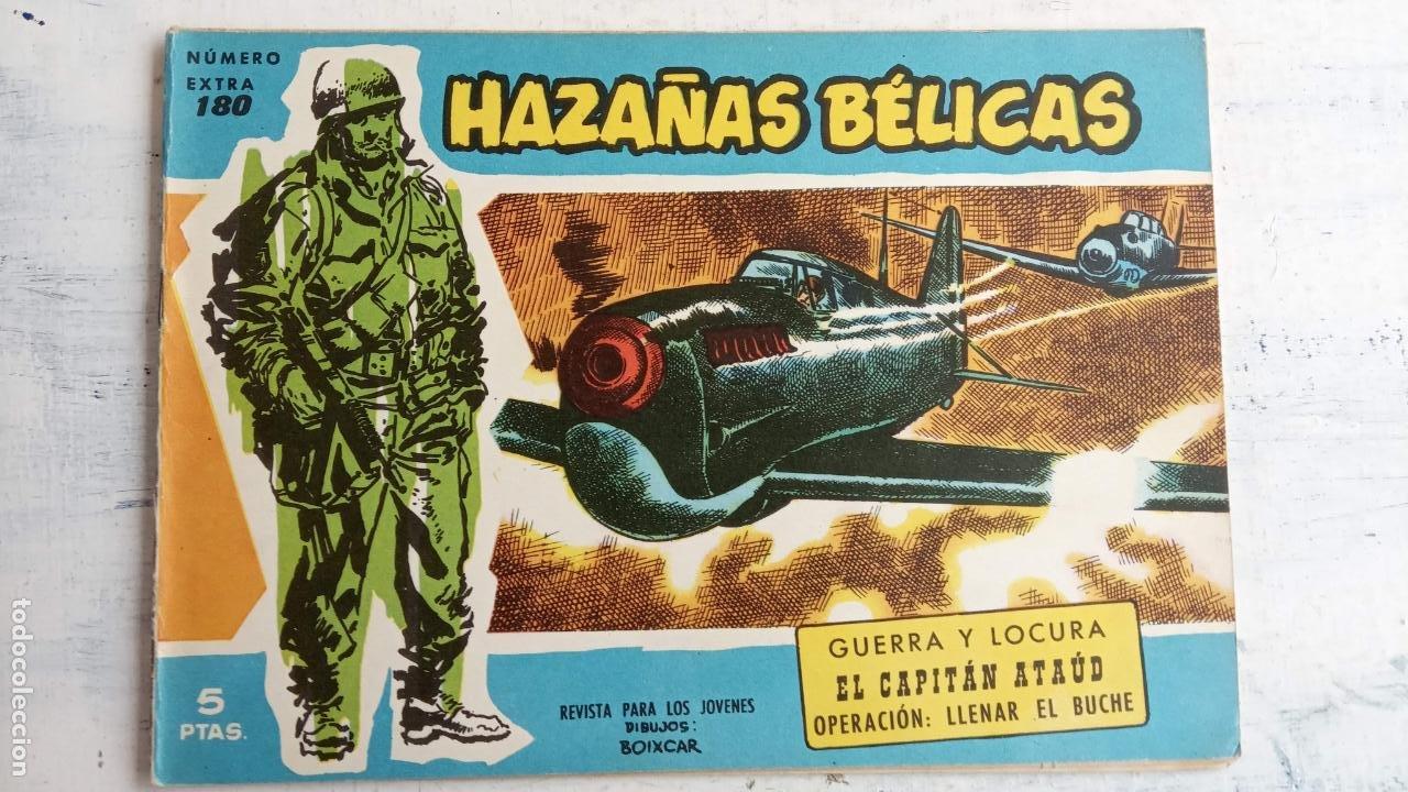 Tebeos: HAZAÑAS BÉLICAS AZUL - 135 TEBEOS EN BUEN-MUY BUEN ESTADO, VER TODAS LAS PORTADAS - Foto 107 - 198812892