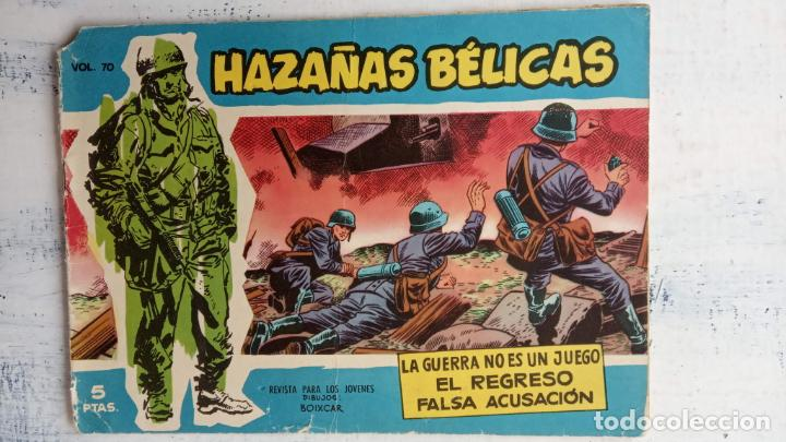 Tebeos: HAZAÑAS BÉLICAS AZUL - 135 TEBEOS EN BUEN-MUY BUEN ESTADO, VER TODAS LAS PORTADAS - Foto 108 - 198812892
