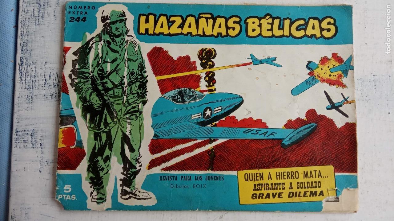 Tebeos: HAZAÑAS BÉLICAS AZUL - 135 TEBEOS EN BUEN-MUY BUEN ESTADO, VER TODAS LAS PORTADAS - Foto 116 - 198812892