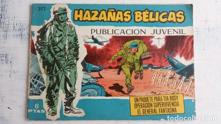 Tebeos: HAZAÑAS BÉLICAS AZUL - 135 TEBEOS EN BUEN-MUY BUEN ESTADO, VER TODAS LAS PORTADAS - Foto 120 - 198812892
