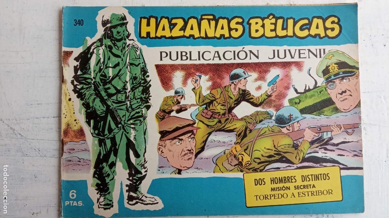 Tebeos: HAZAÑAS BÉLICAS AZUL - 135 TEBEOS EN BUEN-MUY BUEN ESTADO, VER TODAS LAS PORTADAS - Foto 129 - 198812892