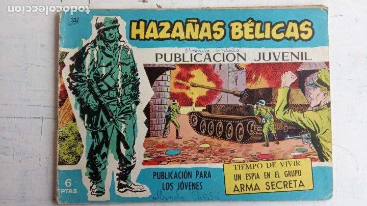 Tebeos: HAZAÑAS BÉLICAS AZUL - 135 TEBEOS EN BUEN-MUY BUEN ESTADO, VER TODAS LAS PORTADAS - Foto 130 - 198812892