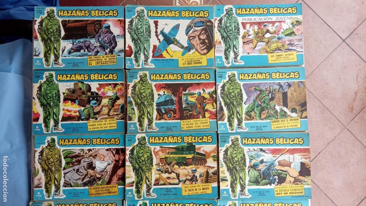 Tebeos: HAZAÑAS BÉLICAS AZUL - 135 TEBEOS EN BUEN-MUY BUEN ESTADO, VER TODAS LAS PORTADAS - Foto 133 - 198812892