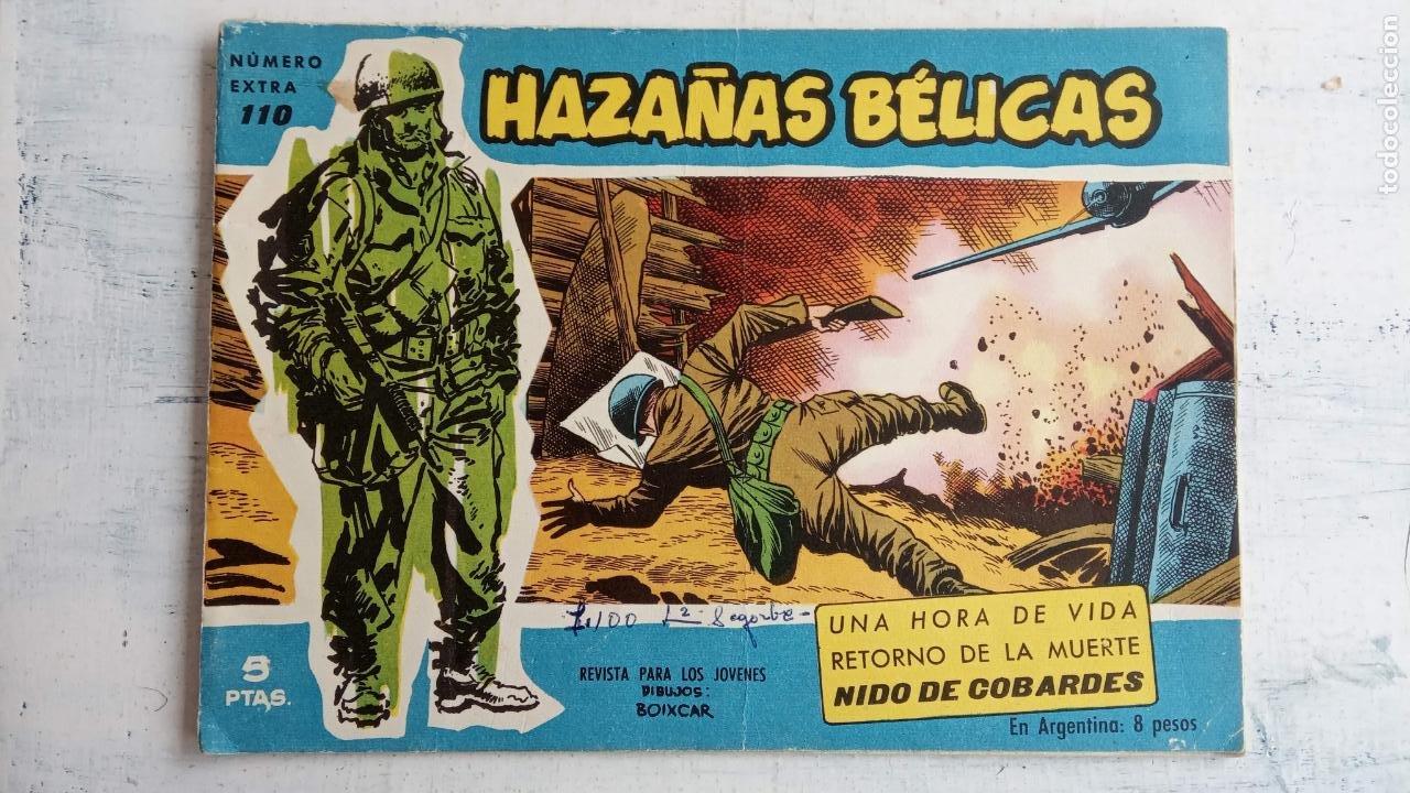 Tebeos: HAZAÑAS BÉLICAS AZUL - 135 TEBEOS EN BUEN-MUY BUEN ESTADO, VER TODAS LAS PORTADAS - Foto 136 - 198812892