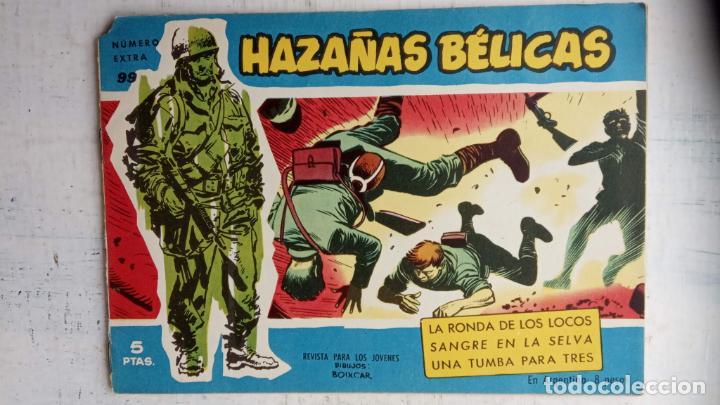 Tebeos: HAZAÑAS BÉLICAS AZUL - 135 TEBEOS EN BUEN-MUY BUEN ESTADO, VER TODAS LAS PORTADAS - Foto 137 - 198812892