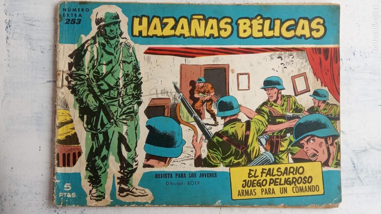 Tebeos: HAZAÑAS BÉLICAS AZUL - 135 TEBEOS EN BUEN-MUY BUEN ESTADO, VER TODAS LAS PORTADAS - Foto 143 - 198812892