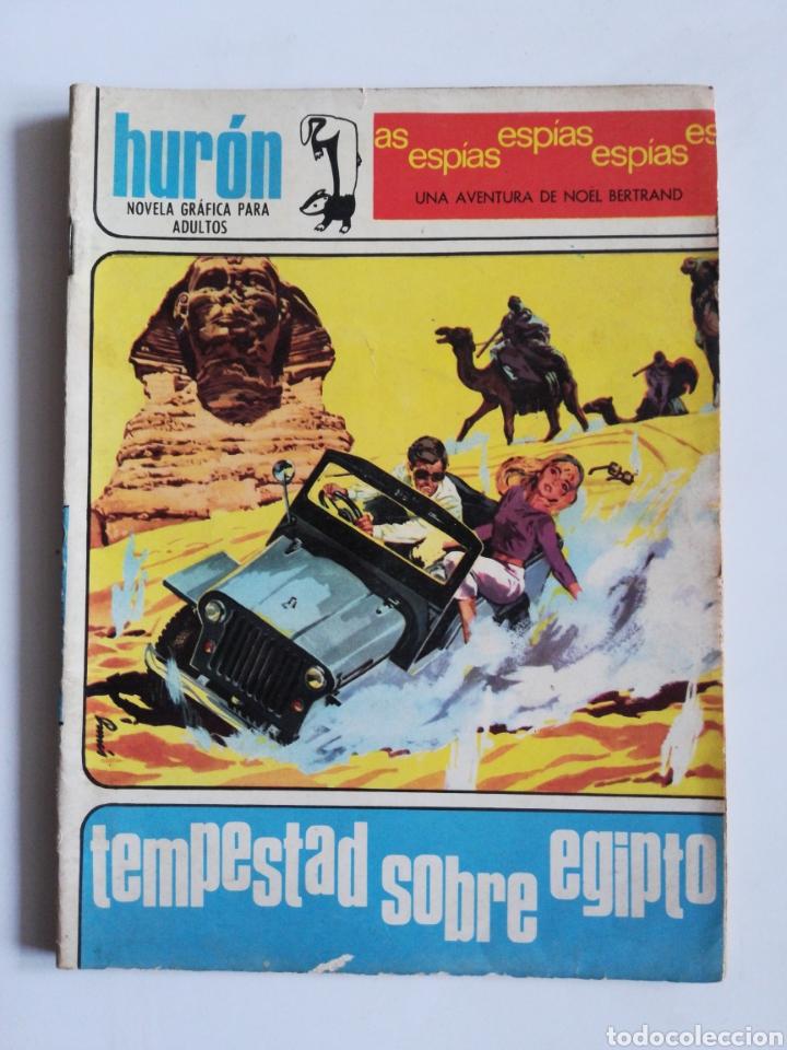 HURÓN N°4 - TEMPESTAD SOBRE EGIPTO ( EDICIONES TORAY) (Tebeos y Comics - Toray - Espionaje)