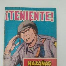 Tebeos: TENIENTE,HAZAÑAS BÉLICAS.1967. Lote 198941826