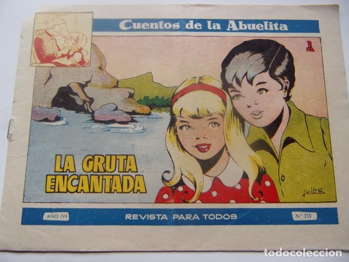 CUENTOS DE LA ABUELITA NUM. 250- LA GRUTA ENCANTADA (Tebeos y Comics - Toray - Cuentos de la Abuelita)