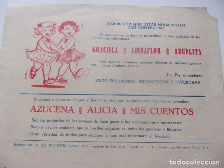 Tebeos: CUENTOS DE LA ABUELITA NUM. 250- LA GRUTA ENCANTADA - Foto 2 - 198959456