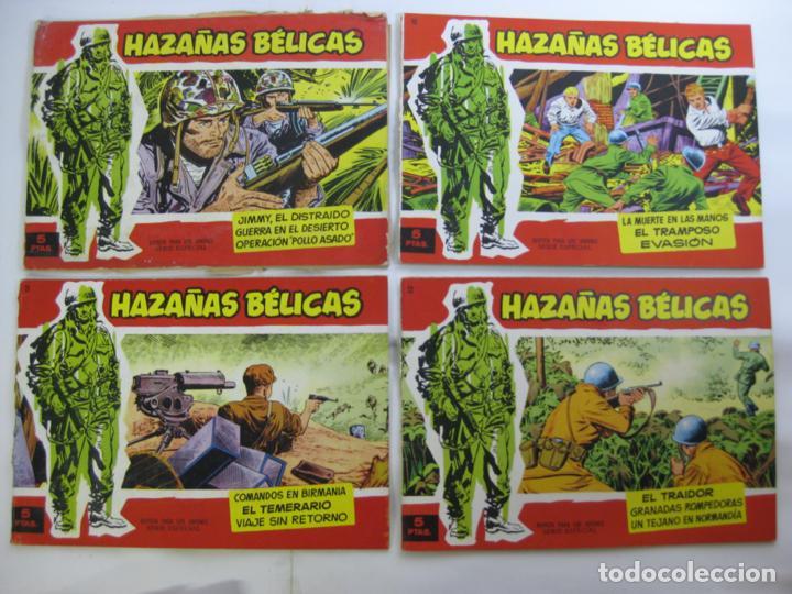 Tebeos: LOTE 16 HAZAÑAS BELICAS - SERIE ROJA - NUMEROS BAJOS - Foto 2 - 198972503