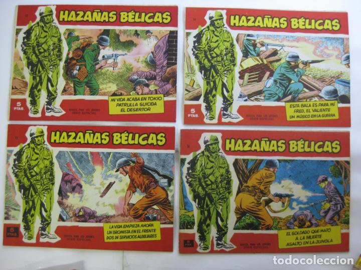 Tebeos: LOTE 16 HAZAÑAS BELICAS - SERIE ROJA - NUMEROS BAJOS - Foto 3 - 198972503