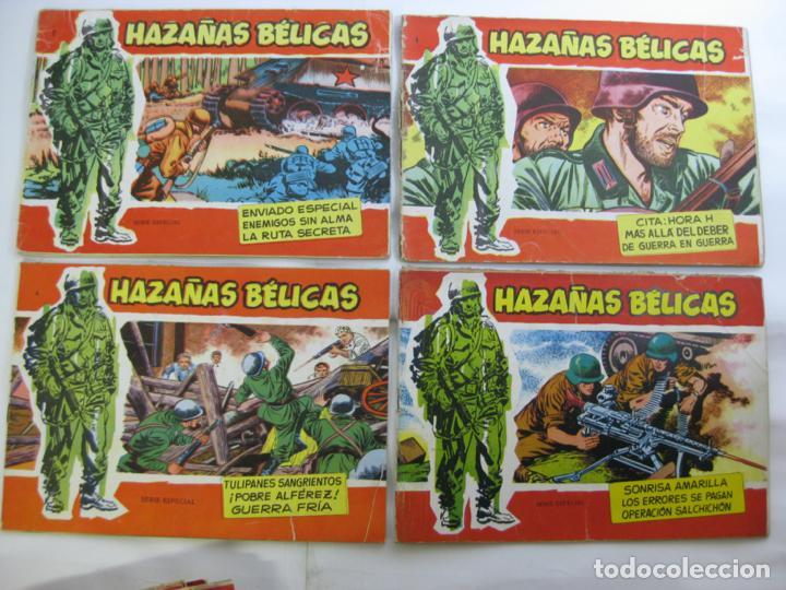 LOTE 16 HAZAÑAS BELICAS - SERIE ROJA - NUMEROS BAJOS (Tebeos y Comics - Toray - Hazañas Bélicas)