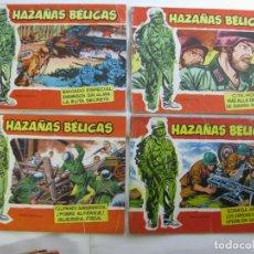 Tebeos: LOTE 16 HAZAÑAS BELICAS - SERIE ROJA - NUMEROS BAJOS. Lote 198972503