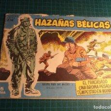 Tebeos: HAZAÑAS BELICAS. N° 276. CON SEÑALES DE USO. (B-38).. Lote 198987311