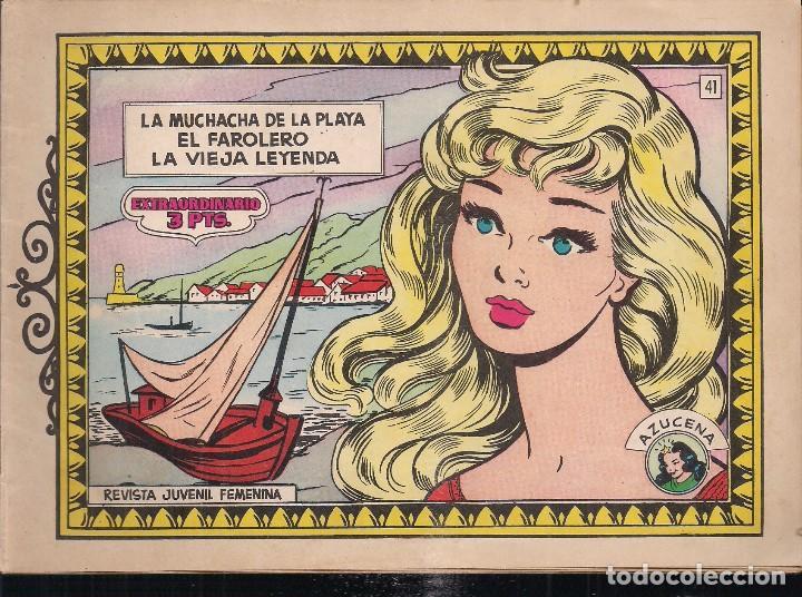 AZUCENA EXTRAORDINARIO Nº 41 (Tebeos y Comics - Toray - Azucena)