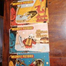 Tebeos: CÓMIC TEBEO MUNDO FUTURO LOTE 3 NÚMEROS ED. TORAY ORIGINALES. Lote 199246022
