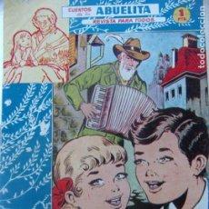 Tebeos: CUENTOS DE LA ABUELITA NUM. 181- LOS NIETOS DEL MUSICO. Lote 199254691