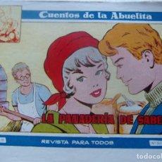 Tebeos: CUENTOS DE LA ABUELITA NUM. 249- LA PANADERIA DE SABELA. Lote 199255672