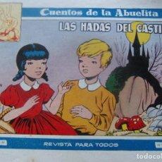 Tebeos: CUENTOS DE LA ABUELITA NUM. 239- LAS HADAS DEL CASTILLO. Lote 199255692