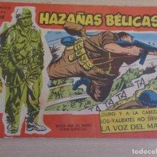 Tebeos: HAZAÑAS BELICAS (1958, TORAY) -EXTRA ROJO- 105. Lote 199411430