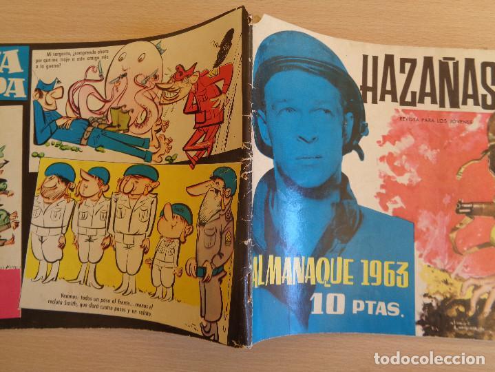 Tebeos: Hazañas Bélicas Almanaque 1963. Original. Edita Toray - Foto 2 - 199411967