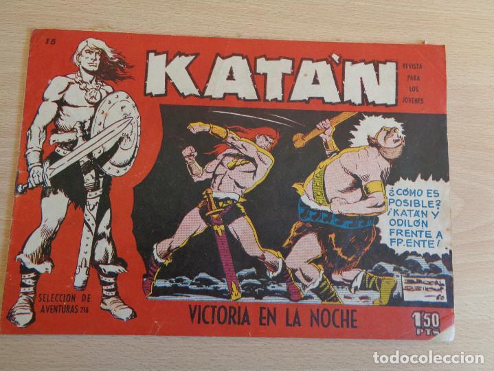KATAN Nº 15. ORIGINAL. VICTORIA EN LA NOCHE. TORAY (Tebeos y Comics - Toray - Katan)