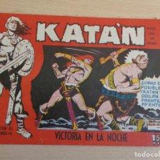 Giornalini: KATAN Nº 15. ORIGINAL. VICTORIA EN LA NOCHE. TORAY. Lote 199487700