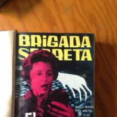 Tebeos: LOTE DE 10 NUMEROS DE LA BRIGADA SECRETA. Lote 199741446