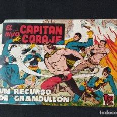 Tebeos: EL HIJO DEL CAPITAN CORAJE Nº 38 - UN RECURSO DE GRANDULLÓN - EDITORIAL TORAY 1958. Lote 199821780