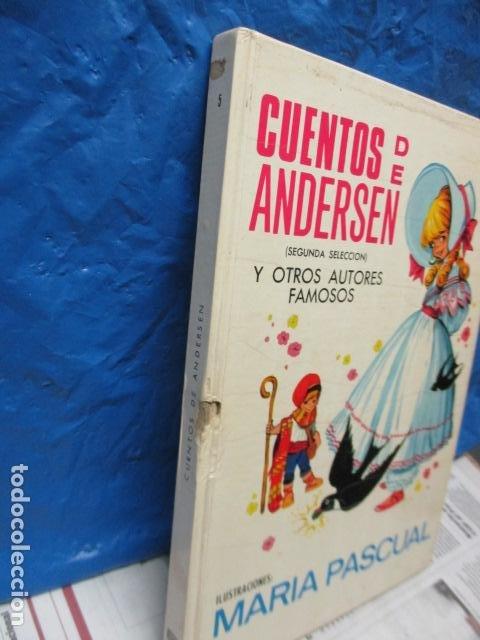 Tebeos: RISCAL.-CUENTOS DE ANDERSEN TORAY Nº 5 ILUSTRACIONES DE MARIA PASCUAL - Foto 25 - 213445153