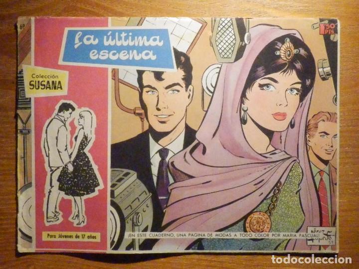 TEBEO - COMIC - COLECCION SUSANA - Nº 69 - LA ÚLTIMA ESCENA - EDICIONES TORAY (Tebeos y Comics - Toray - Susana)