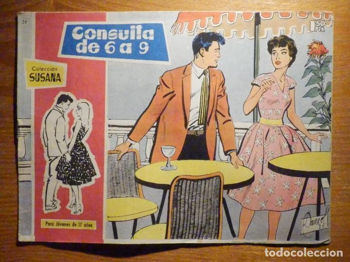 TEBEO - COMIC - COLECCION SUSANA - Nº 29 - CONSULTA DE 6 A 9 - EDICIONES TORAY (Tebeos y Comics - Toray - Susana)