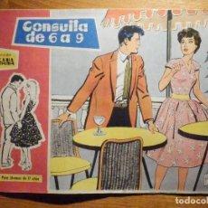 Tebeos: TEBEO - COMIC - COLECCION SUSANA - Nº 29 - CONSULTA DE 6 A 9 - EDICIONES TORAY. Lote 199975158