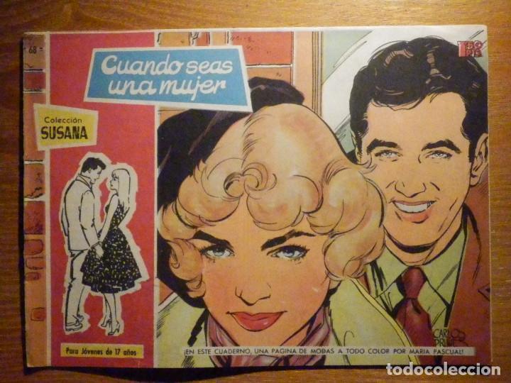 TEBEO - COMIC - COLECCION SUSANA - Nº 68 - CUANDO SEAS MUJER - EDICIONES TORAY (Tebeos y Comics - Toray - Susana)