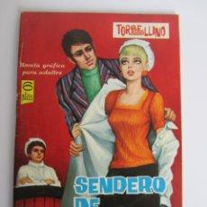 Tebeos: TORBELLINO (1966, TORAY) 31 · 15-IV-1967 · SENDERO DE ESPINAS. Lote 199995532