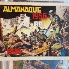 Livros de Banda Desenhada: ALMANAQUE HAZAÑAS BELICAS 1956 . Lote 200085872