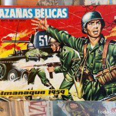 Livros de Banda Desenhada: ALMANAQUE HAZAÑAS BELICAS 1959. Lote 200085905